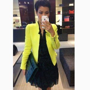 3a85044a Women Zara Tweed Blazer on Poshmark